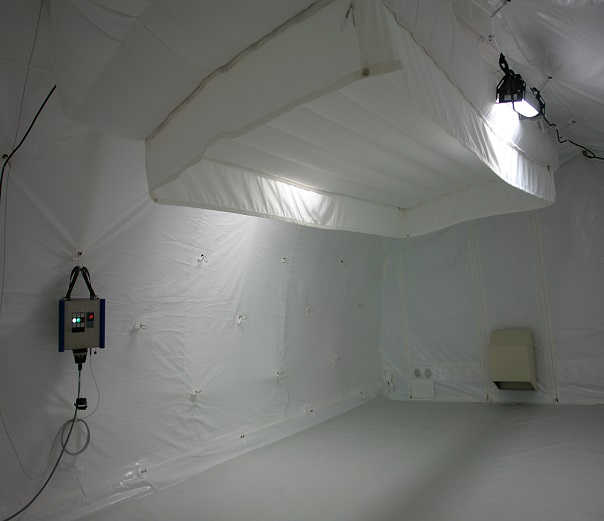 Climate Control Air Conditioning, Clean Room Tent